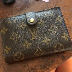 Vintage Louis Vuitton Wallet w/ coinpurse billfold